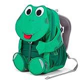 Affenzahn Großer Freund - Kindergartenrucksack für 3-5 Jährige Kinder im Kindergarten und Kinderrucksack für die Kita - Frosch - Grün