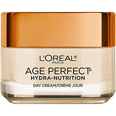 L'Oreal Paris Skincare Age Perfect Hydra-Nutrition Day Cream with Manuka Honey Extract and Nurturing Oils