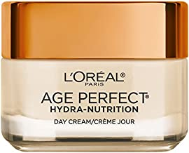 Face Moisturizer by L'Oreal Paris, Age Perfect Hydra-Nutrition Day Cream with Manuka Honey Extract and Nurturing Oils, Anti-Aging Cream to Firm and Improve Elasticity on Dry Skin, 1.7 oz.