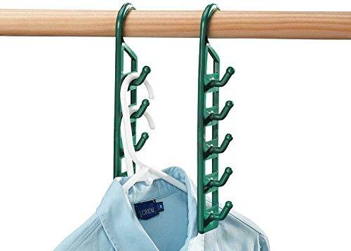 Space Saving Hanger Holders Set of 4