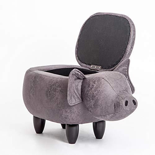 Opbergboxen Ottomaanse volwassenen voetenbank rust lederen piggy voetenbankjes & poefes multifunctionele krukken stoel voor woonkamer slaapkamer