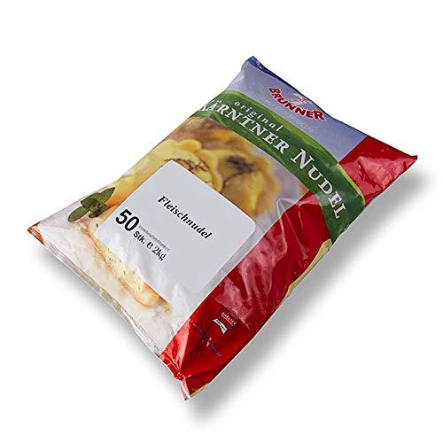 Kärntner Fleischnudel, gefüllte Teigtasche, Brunner, TK, 2 kg, 50 x 40g