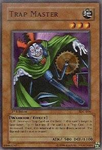Yu-Gi-Oh! - Trap Master  SDK-044  - Starter Deck Kaiba - Unlimited Edition - Common