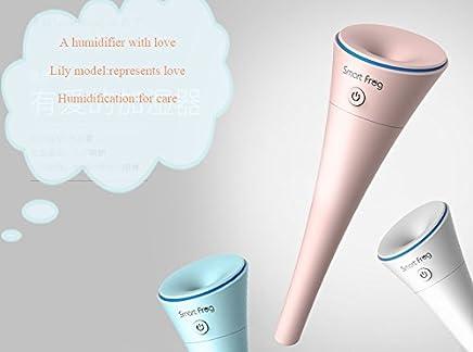 Water-lily Mist 加湿器 USB – 迷你静音保湿电(白色)