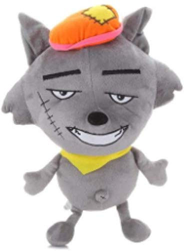 HNZSAngenehme Ziege und Big Big Wolf Plüschtier Puppe 40cm maßgeschneiderte Tier Cartoon Plüsch Gefüllte Kissen Puppe für Jungen und Mädchen Geschenk