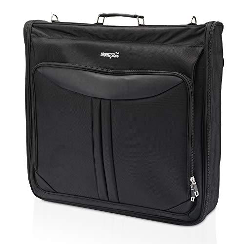 Thorusline Anzugtasche, durch unser 𝐀𝐍𝐓𝐈𝐊𝐍𝐈𝐓𝐓𝐄𝐑𝐒𝐘𝐒𝐓𝐄𝐌 kommen Ihre Anzüge 100% Faltenfrei am Urlaubsort an: Der Organizer für Business-, Geschäfts-und Urlaubsreisen!