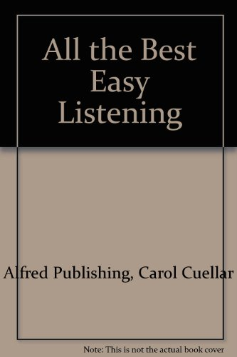 All the Best Easy Listening: Piano/Vocal/Chords (All the Best Series)