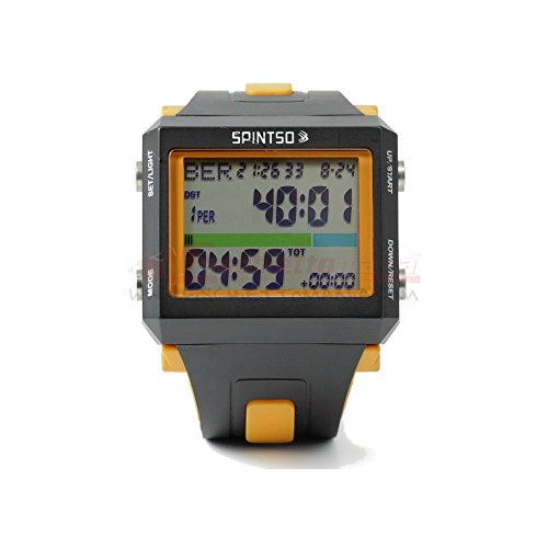 Spintso Ref Watch Pro orange Profi Schiedsrichter-Armbanduhr