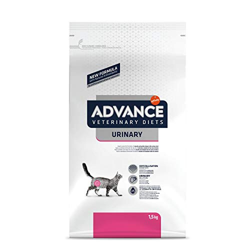 ADVANCE Veterinary Diets Urinary - Croquettes pour Chat avec Problèmes Urinaires - 1,5kg
