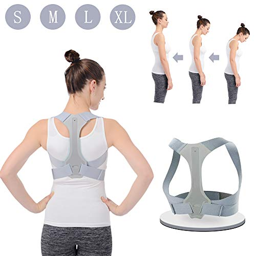 Posture Corrector for Men and Women HOPAI FDA Approved Adjustable Upper Back Brace for Clavicle...