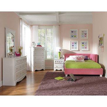 Hot Sale Standard Furniture My Room 5 Piece Daybed Bedroom Set In Pink