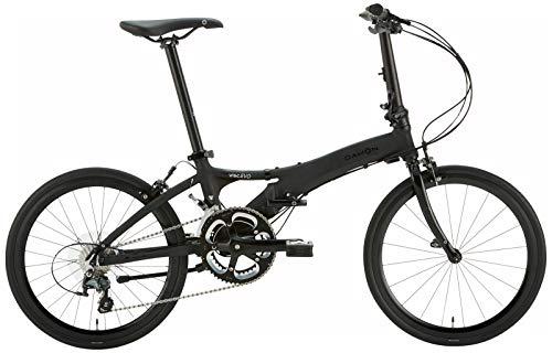 ダホン(DAHON) 2020年モデル Visc EVO 2x10段変速 折りたたみ自転車 20VISCBK00 マットブラック