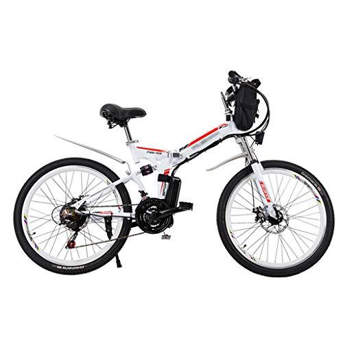 FFF-HAT Bicicleta eléctrica Plegable para Adultos Bicicleta eléctrica de 24 Pulgadas/Bicicleta eléctrica...
