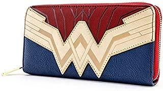 Wonder Woman Saffiano Faux Leather Wallet