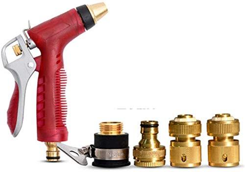 Sistema de riego WSJ multifunción para lavado de coche, pistola de agua para jardín, manguera de riego, pistola de agua, Juego de copas de cobre.
