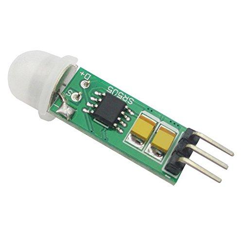 Demarkt–HC de sr505Mini compacto Cuerpo Sensor Módulo Sensor Cuerpo Humano Cuerpo Inducción Interruptor Módulo
