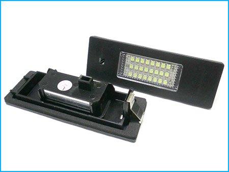 CARALL LE2881 Kit Kennzeichenbeleuchtung 12V 5W Weiß 6000K Plug und Play Kein Fehler - 2 Stück