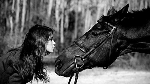 Puzzels 1000 stuk voor volwassenen Kinderen Amazone Dier Paard Houten kindergeschenken Puzzel Decompressie Decoupeerzagen