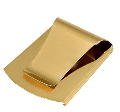 HONB ,  Geldklammern Schwarz 2-Gold