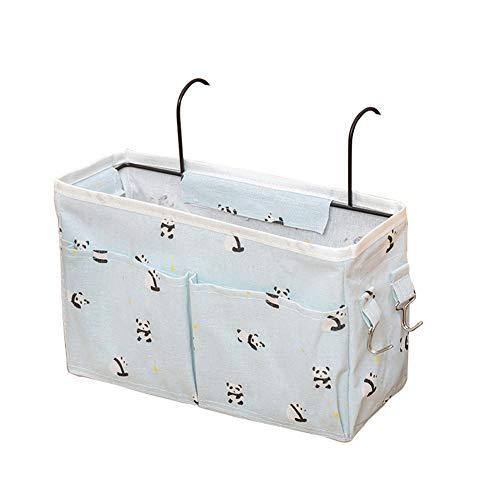 Bedside Hanging Storage Basket,Bedside Storage Caddy Hanging Organizer Bag...