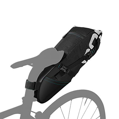 Alforjas Bicicletas, 8L/10L Alforja para Bicicleta de Montaña, Bolsa de Sillín Ciclismo Tronco Pack Bolsa de Transporte para MTB Bicicleta Bicicleta de Carretera,8L