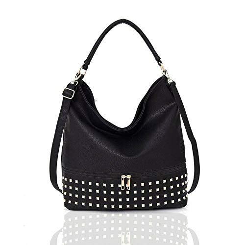 Adette Stud Slouch Shopper and H...