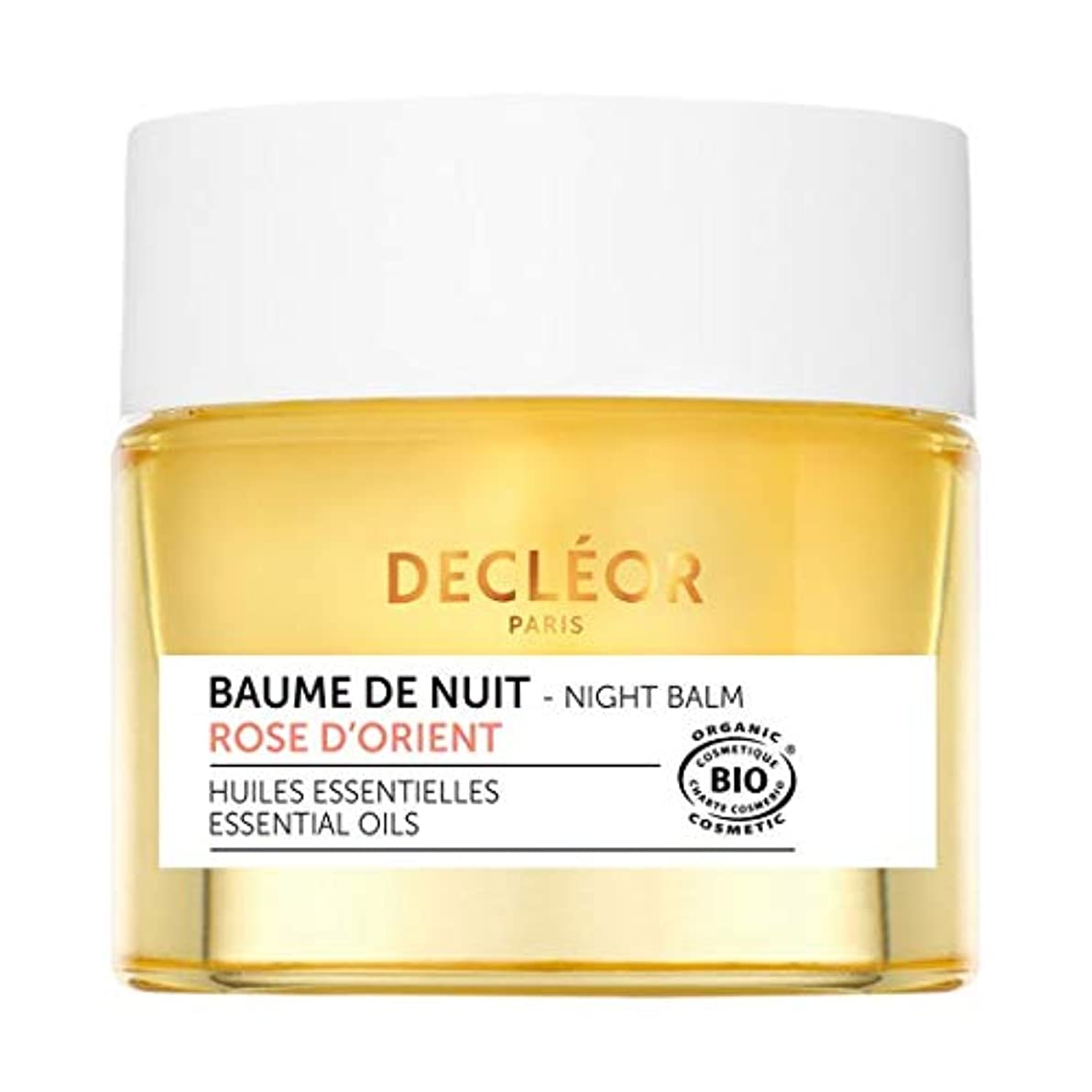 安全でない寛大な信者デクレオール Aromessence Rose D'Orient Soothing Comfort Night Face Balm - For Sensitive Skin 15ml/0.47oz並行輸入品