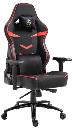Pulse Gaming Racing Edition GT-09 Metal Base with PU Leather Upholstery Ergonomic Gaming Chair...