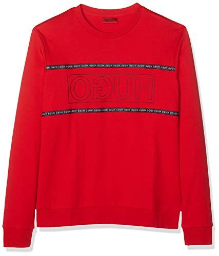 HUGO Herren Dicago193 Sweatshirt, Rosa (Open Pink 693), Medium (Herstellergröße: M)