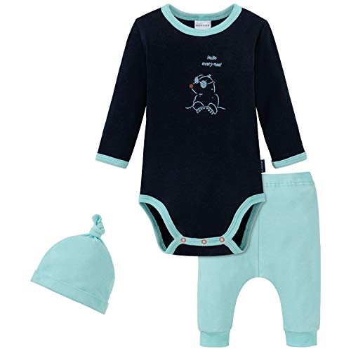 Schiesser Unisex-Baby Set Unterwäsche, Sortiert 1, 74