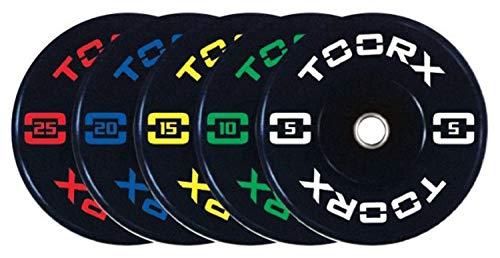 Toorx Disco Absolute Bumper Training con Foro ø 45mm (10 kg)
