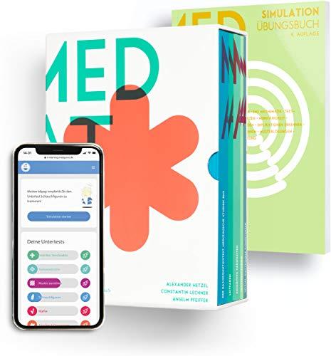 MedAT 2020 / 2021 I Komplettpaket I Exklusives Paket aus Kompendium, MedAT-Simulation und E-Learning Zugang I Vorbereitungs-Box für den Medizinaufnahmetest in Österreich