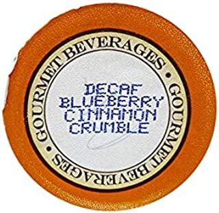Blueberry Cinnamon Crumble Decaf Gourmet Coffee, 35 Single Serve Cups