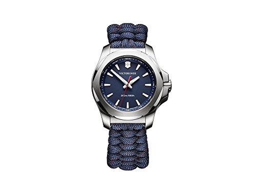 Victorinox INOX Reloj para Mujer Analógico de Cuarzo Suizo con Brazalete de Nylon V241770