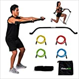 Gorilla Bow Portable Gym Equipment Set - Home Gym Resistance Training...