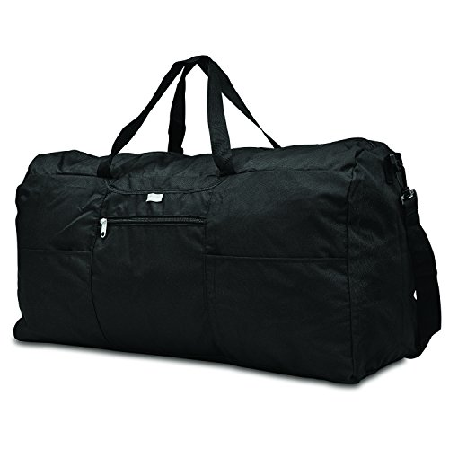Samsonite Foldaway Packable Duffel Bag, Black, Extra Large