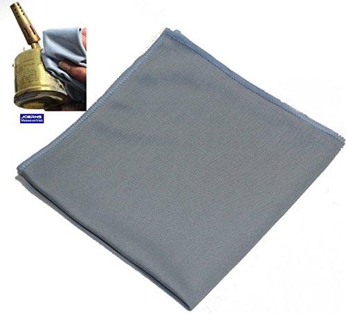 Avec pierre nettoyante joerns chiffon de nettoyage-chiffon de polissage de polissage de surfaces purifié env. bleu 40 x 40 cm lavable en machine jusqu'à 95 °c