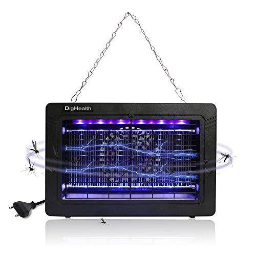 DigHealth - Lampe Anti Moustique Electrique Interieur, UV LED Tue...