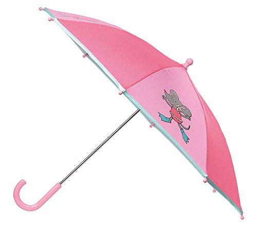 sigikid, Mädchen, Regenschirm mit Maus, Rosa, 24946