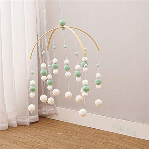 Windgong voelde bal kwekerij Mobile ornament hanger opknoping plafond gift Photo Promotie home decor ambachtelijke Cute Kindergarten,E
