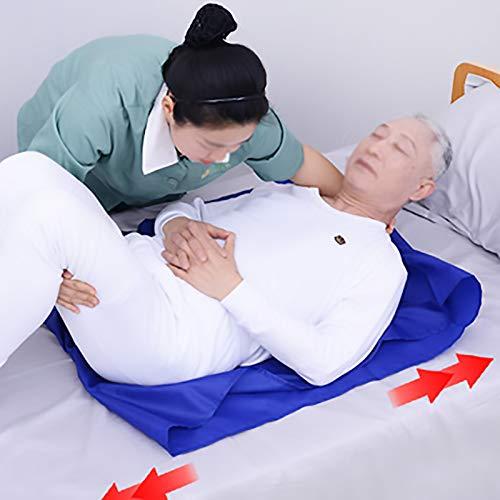 Ayuda De Derivación para Pacientes En Atención Médica, Deslizador Auxiliar para Ancianos, Sábana Deslizante Multifuncional, Almohada De Transferencia Postrada En Cama,90 * 70cm