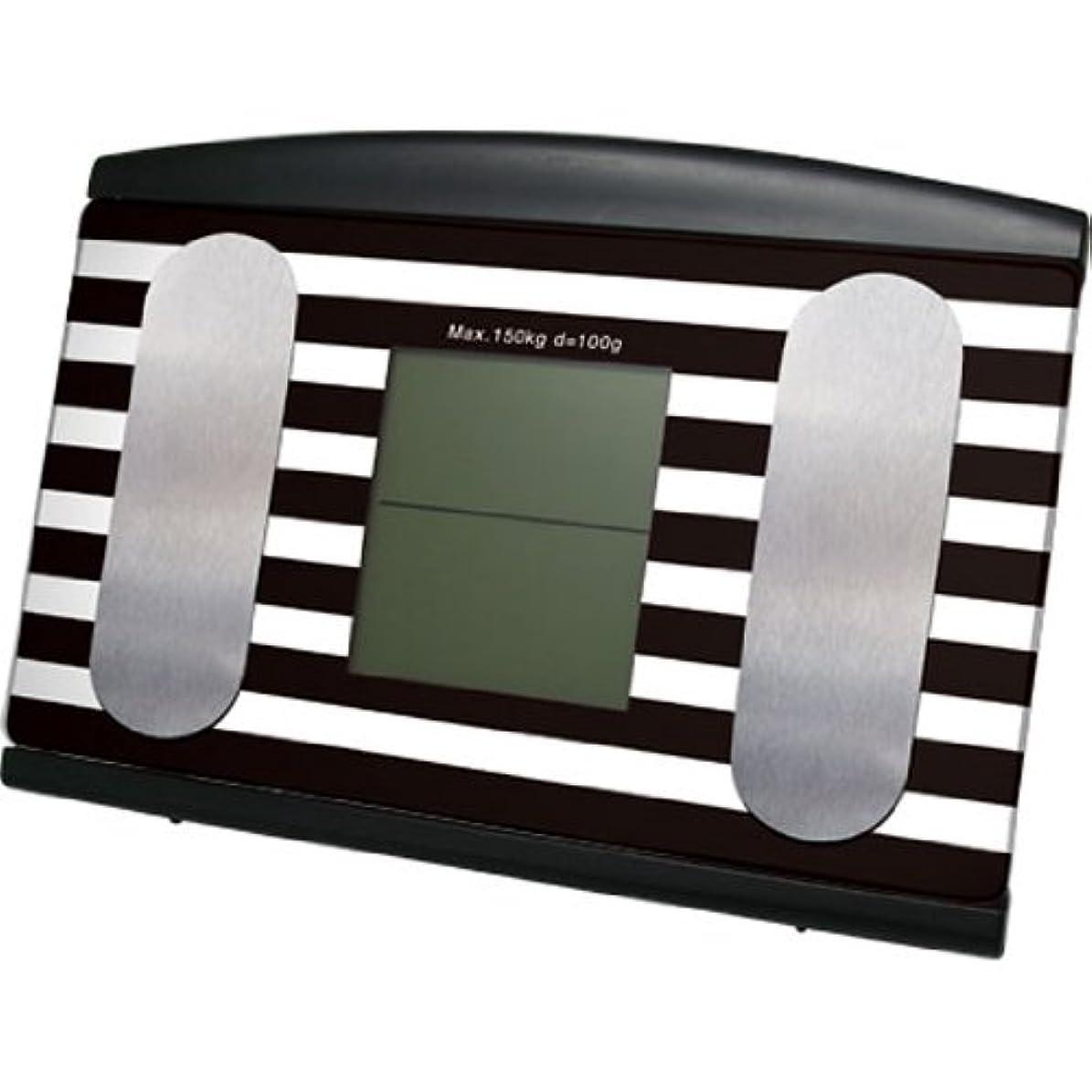 メンタル毎日アクセントマクロス 体重体組成計 cogata scale(小型スケール) ブラック MCE-3540