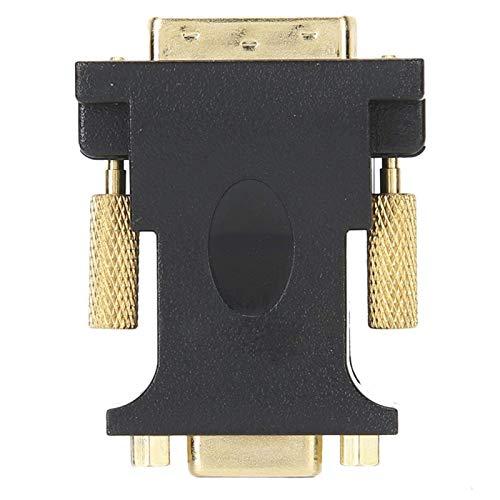 FOLOSAFENAR Adaptador Adaptador DVI-I 24 + 1 a VGA de Doble Canal Profesional Estable, para HDTV, para proyector
