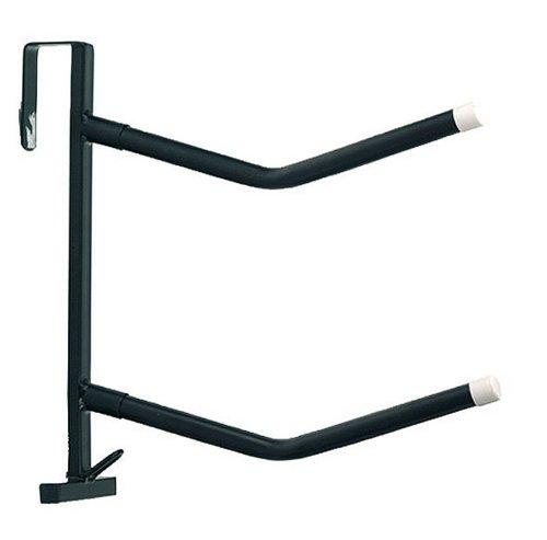 AMKA Sattelhalter 2 Arme, doppelt für Zwei Sättel schwarz, transportabel