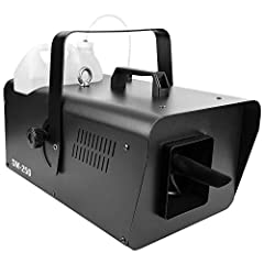 High output snow machine that will add the look of snow to any event large or small User-friendly volume adjustment using the included wired timer remote DMX and Digital Display Convenient Hi/Low blower switch for near or far coverage Uses non-toxic ...