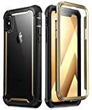 i-Blason iPhone X Hülle iPhone XS Hülle [Ares] Handyhülle 360 Grad Schutzhülle Bumper Case...