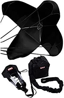 Racerdirect.net 12 Ft 8 Line-22 Ft Lines Spring Racing Parachute W/Nylon Bag & Pilot Chute