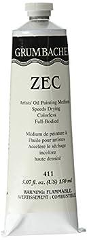Grumbacher ZEC Drying Medium for Oil Paints 5.07 oz Tube