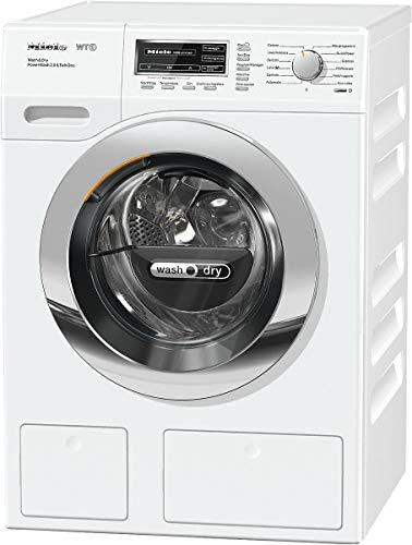 Miele WTH130 WPM PWash 2.0 & Tdos wasmachine (voorlader/wit/rechts/knopen, draaibaar, 4 kg)