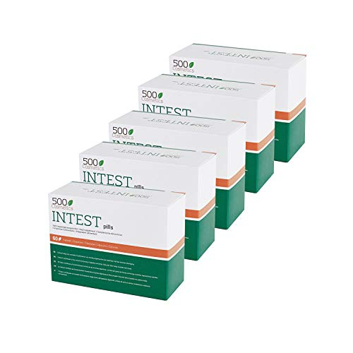 500Cosmetics Intest- Cápsulas Naturales para Prevenir y Evitar las Hemorroides - Mejora la Circulación y Combate el Estreñimiento - Para Hombre y Mujer. (5)